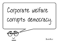 Scroungers: How Much Does the Corporate Welfare State Cost